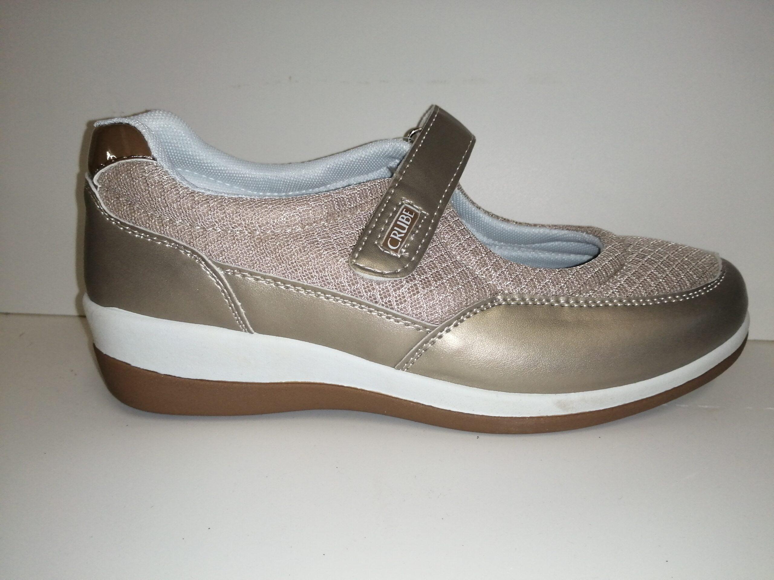 Zapato velcro sra casual 187CRUBE