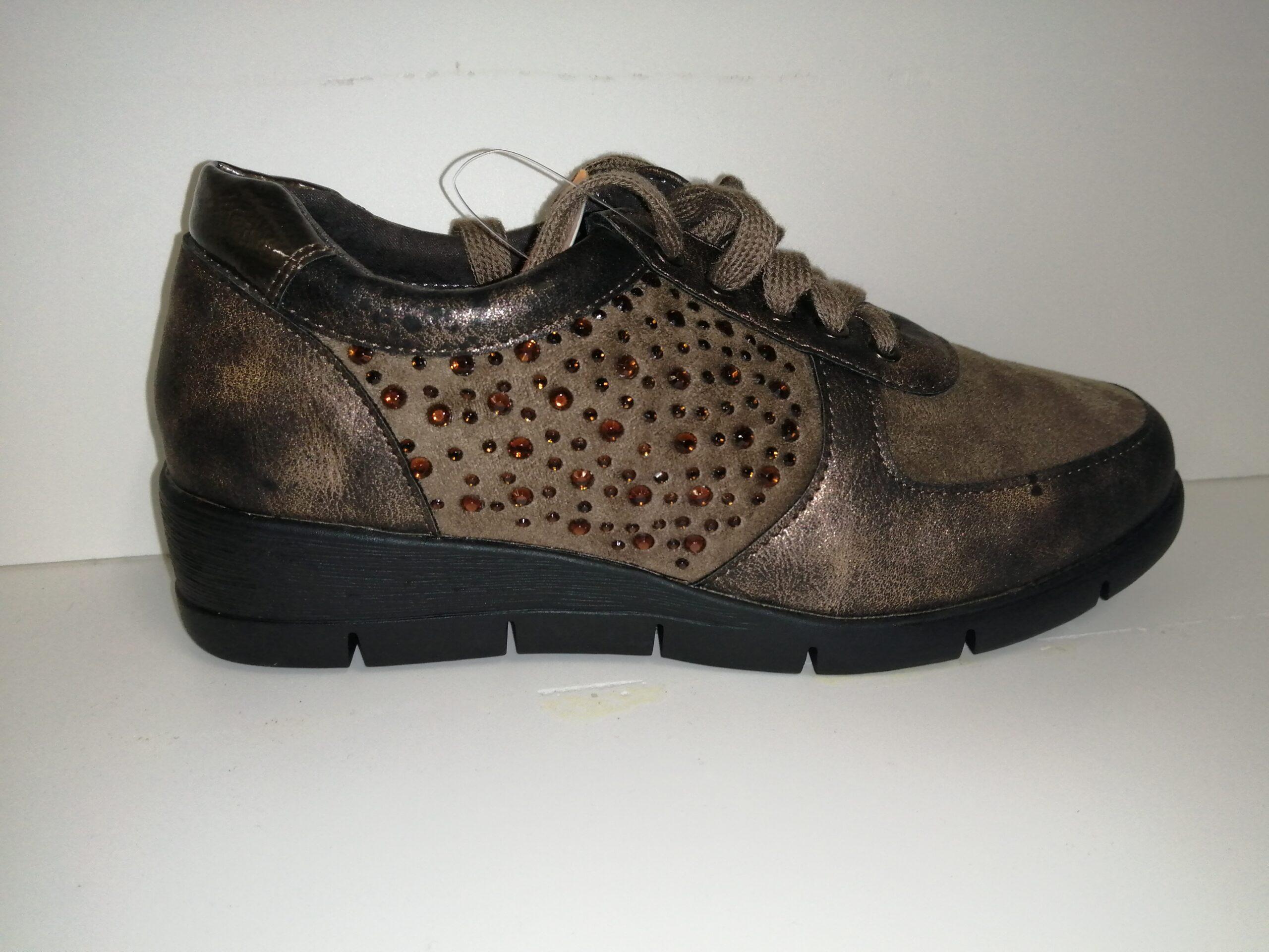 Zapato cordones sra marrón ABZ11063