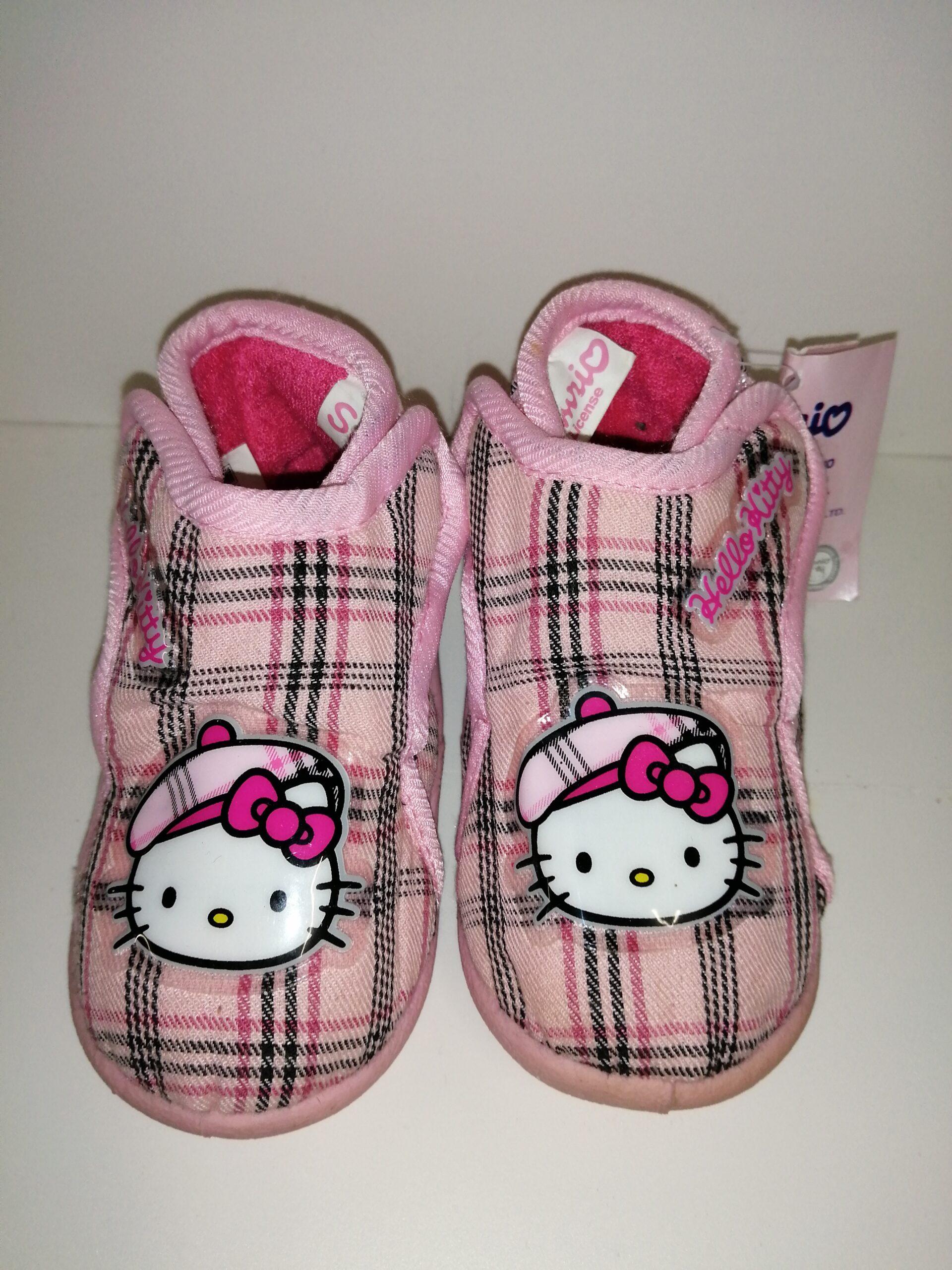 Zapatillas de casa botín KITTY