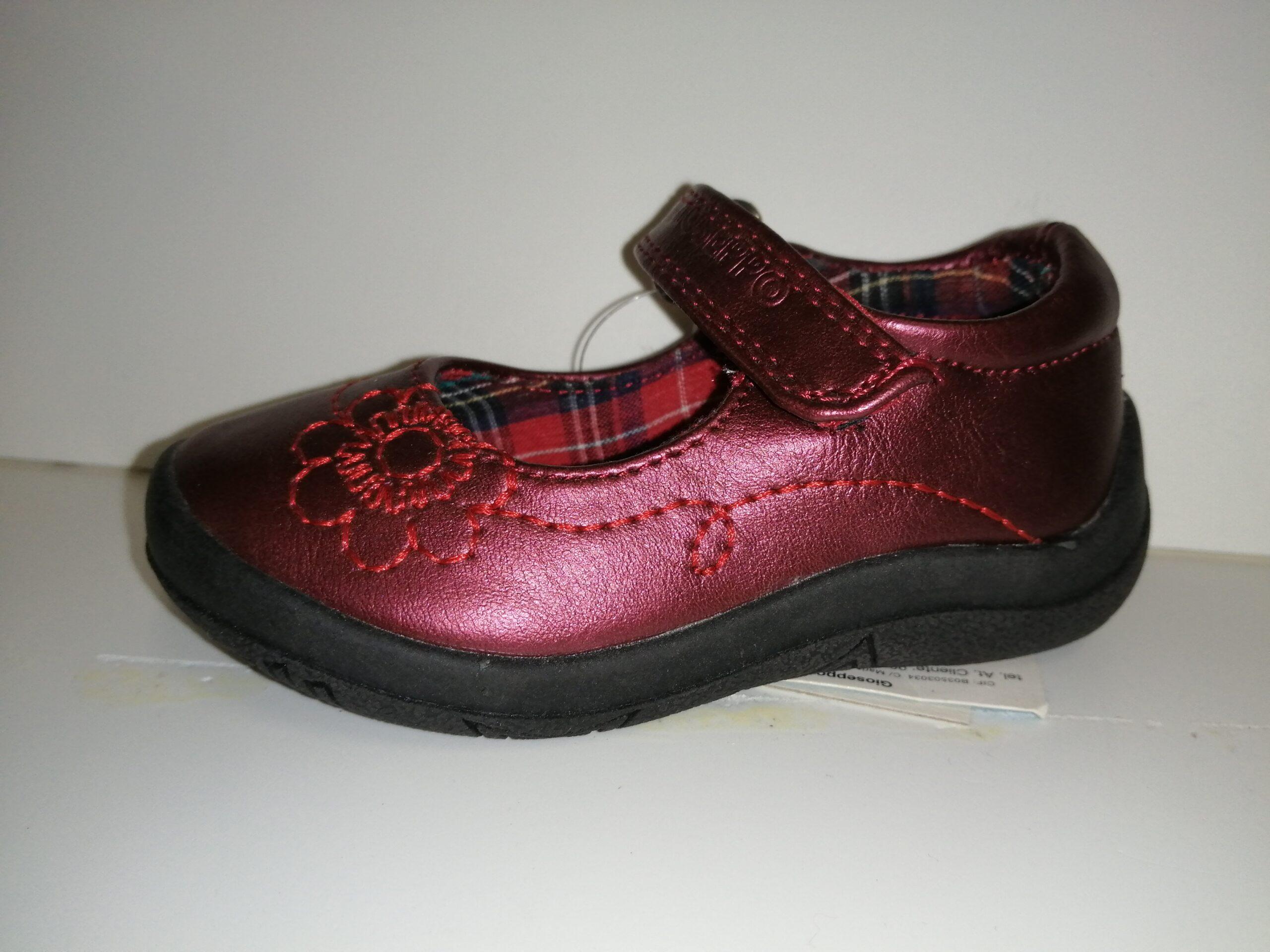 Zapato merceditas niña velcro  ANABEL