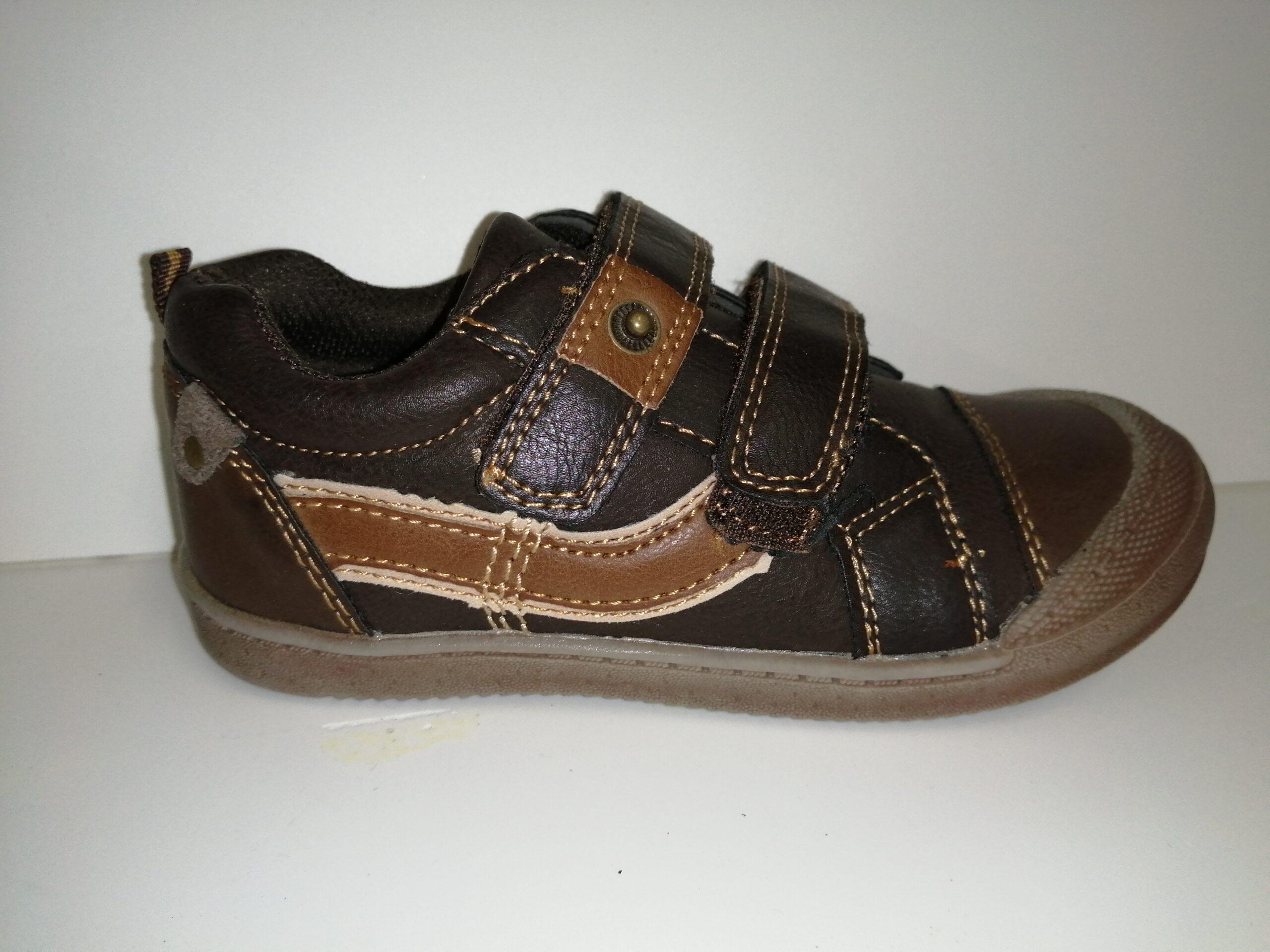 Zapato niño velcro 837P-G